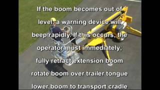 Bil-Jax 3632T Boom Lift Safety & Operational Instruction Video Part 2
