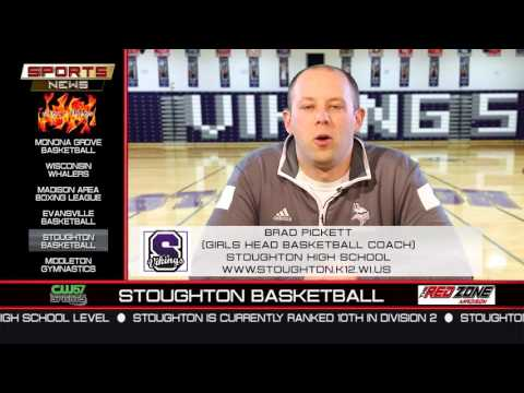 The Sports News | Brad Pickett | Stoughton High School Girls Basketball | 12/7/15