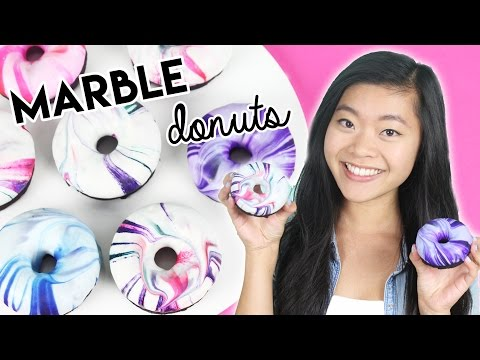 How to Make Marble Glazed Donuts!
