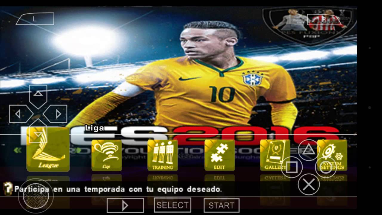 PES PPSSPP-PSP Iso Download For Android (English) - RisTechy