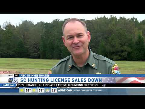 Hunting License Sales Down, SCDNR Focuses On Recruitment