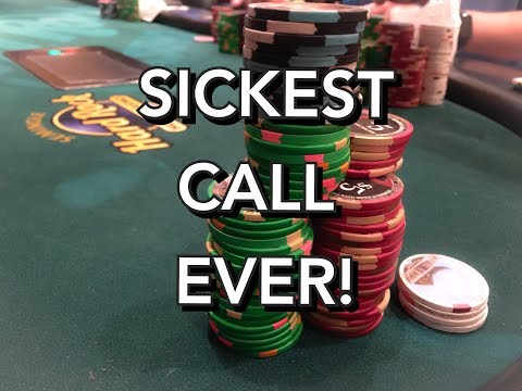 Poker Vlog Ep #8- Playing 2/5  & 5/10 NL at Seminole Hard Rock- Involved in Sickest Call ever!!!!!!