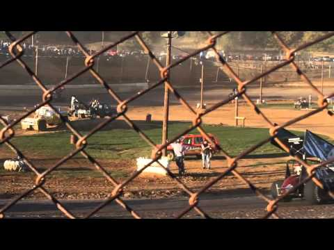 Path Valley Speedway 305 Sprint Car Feature 10-11-2015