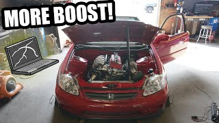 homepage tile video photo for Turning up the power on the RWD Civic! (time for the track!)