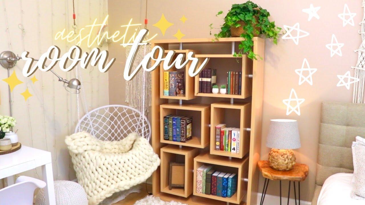 Aesthetic & cozy room tour ✨🍃