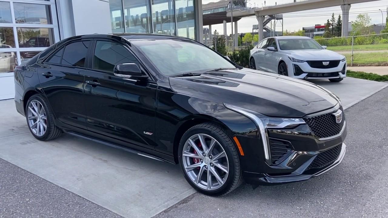 Black 2020 Cadillac CT4 V-Series Review - GSL GM City ...