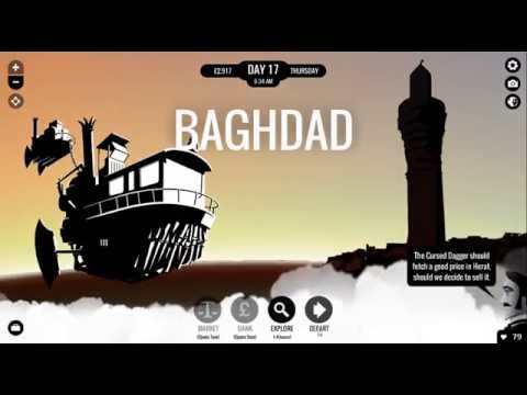 Let's Read 80 Days - 3-4 - Baghdad to Kabul