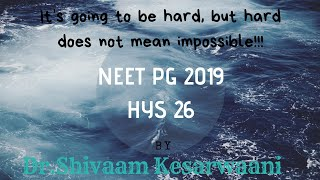 NEET PG HYS 26 (COMMUNITY MED)