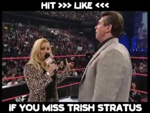 Trish stratus bark like a dog