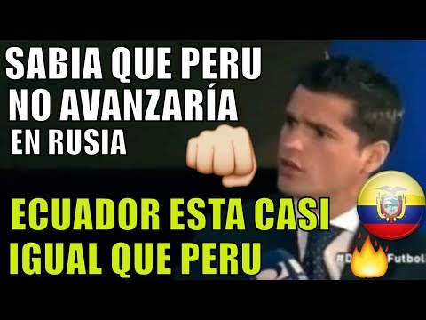 PERU VS ECUADOR OJALA NO ESPEREN 40 AÑOS MAS- ECUATORIANOS NO ACEPTAN QUE PERU ES SUPERIOR.