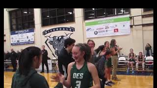 Highlights of OES Historic Night in Girls Basketball