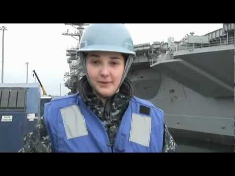 CVN-68 USS Nimitz (Nuclear Aircraft Carrier) Arriving to Port 3/9/2012