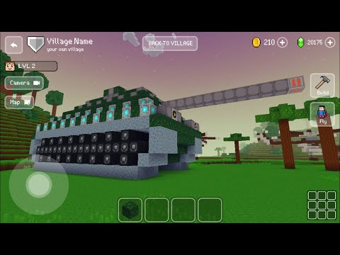 Block Craft 3D : Building Simulator Games For Free Gameplay#424 (iOS & Android) | Tank