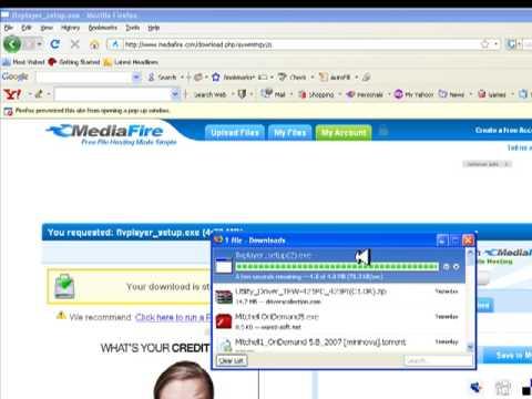 Descarga reproductor de videos FLV