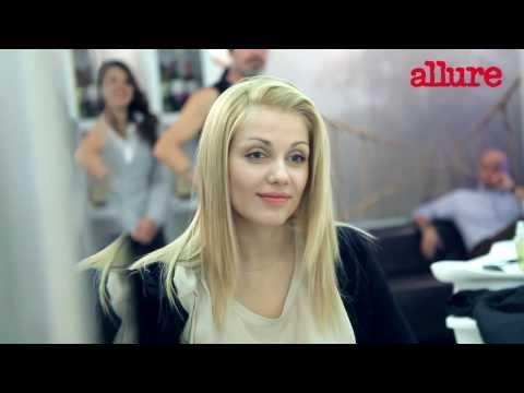 Стрижка на длинные волосы с челкой: видео от стилиста Biopoint Personal