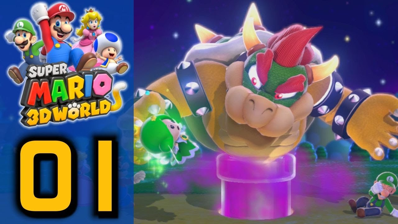 Super Mario 3d World Suddenly Cat Part 1 World 1