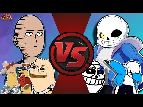 SAITAMA vs SANS! (One Punch Man vs Undertale) CFC EP 188!