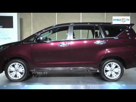 New Innova Crysta 2016 Launched at Hyderabad Ex-Showroom Price Range 14,06,621 and 21,13,477