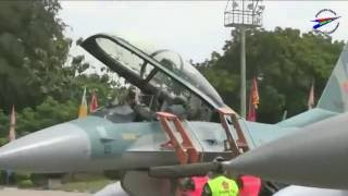 ✈✈✈ The latest jet fighter aircraft F 16 belonging to Indonesian