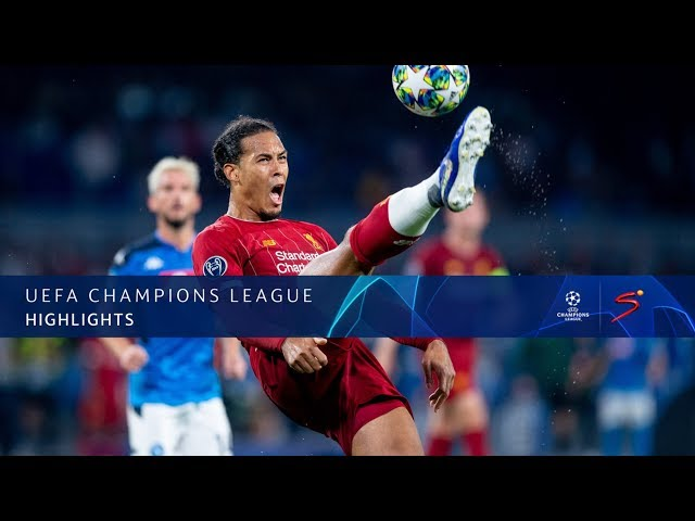 UEFA Champions League | Napoli v Liverpool | Highlights