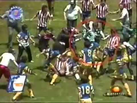 Bronca america vs chivas 1986