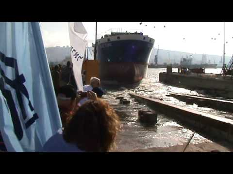 "Launching the ""Blue Tune"" - Israeli shipyards"