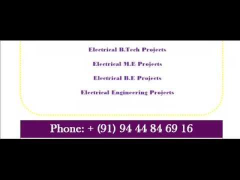PROJECTS IN ELECTRICAL IN PERTH