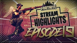 WE'RE BACK HITTING TRICKSHOTS! Stream Highlights Ep. 19 - Fortnite Battle Royale