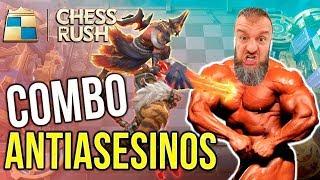 Combo ANTIASESINOS | Chess Rush Gameplay | Combo Guerreros + Undead | Black Ursus | ChessRushES