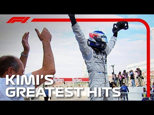 Kimi Raikkonen's Greatest Moments EVER!