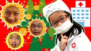 ごっこ遊び はっくしょーん!!大変!花粉がくっついた!Little Super Heroes Kids  Pollen (allergy) thumbnail