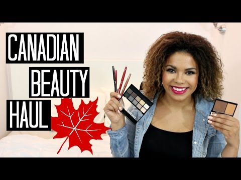 Canadian Makeup Brands! Annabelle, Marcelle & Niki Garret! | samantha jane