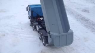 Rc dump truck MAN 8x8