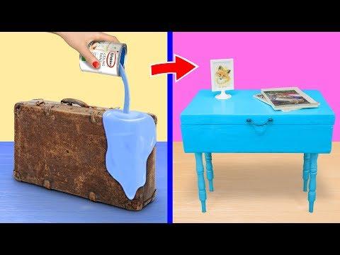 Reuse! 12 DIY Upcycling Home Decor Ideas