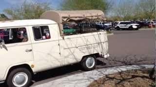 1968 Volkswagen Double Cab Type 2 Bus, Pick-Up, Transporter, Kombi, Microbus, Camper