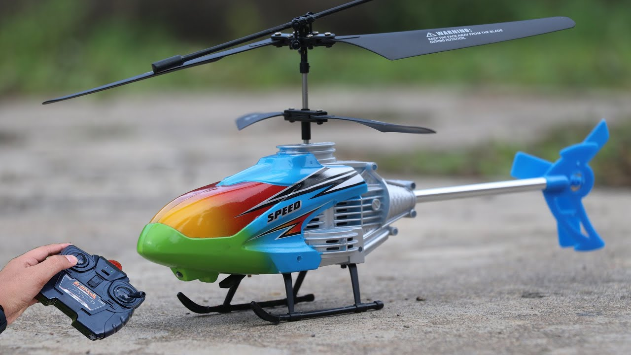 Latest speed boss rc helicopter unboxing and fly test