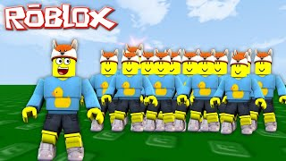ROBLOX ADVENTURE - BABY DUCK GETS CLONED 1000 TIMES!!