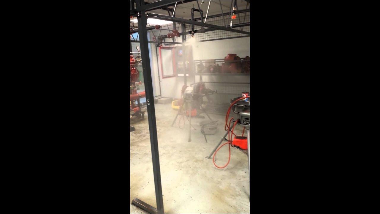 Pendant sprinkler head going off youtube pendant sprinkler head going off mozeypictures Images