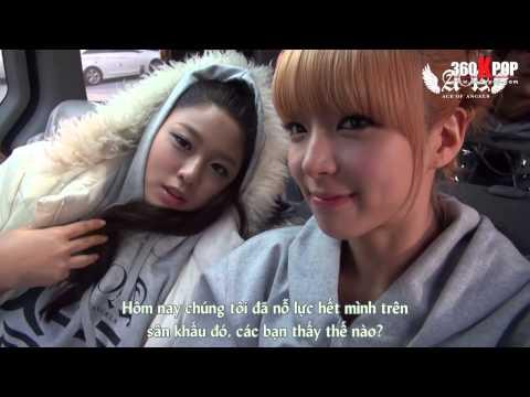 [Vietsub] AOA - Angel's Cam #11 ChoA's Cam {FNC Kingdom's TEAM}