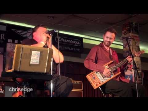 HD - 2012 Guitar Geek Festival - Nathan James & James Harman Live! - Changed The Lock On My Door