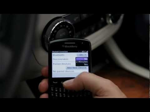 Bluetooth Phone Pairing -- Mercedes-Benz USA Owners Support
