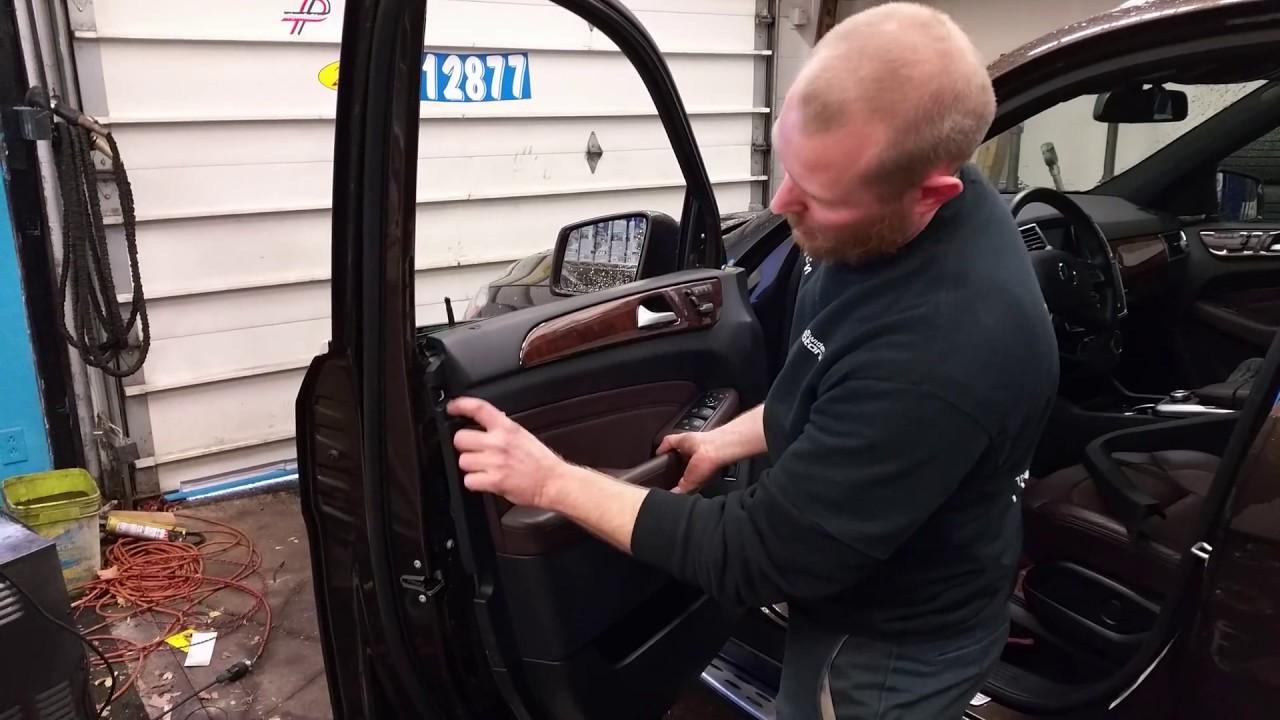 2017 Mercedes Ml Door Panel Removal Ml350 Ml550 Ml63 Amg W166 Gle