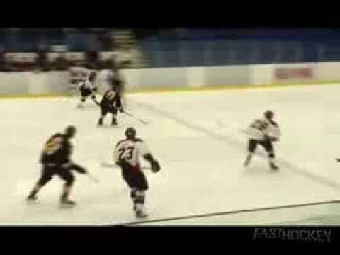 PJHL Highlight - Big collision in Richmond