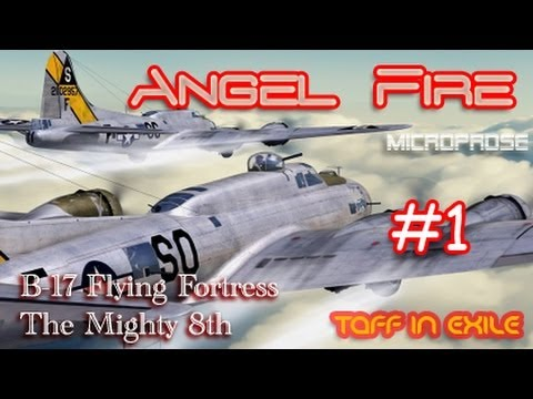 Let's Play B-17 The Mighty 8th - Angel Fire Mission 1