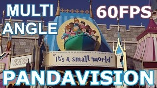 It's A Small World - ON RIDE - Multi Angle Pandavision - Magic Kingdom - Walt Disney World