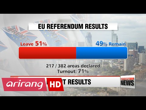 Brexit looms as Leave vote takes strong lead