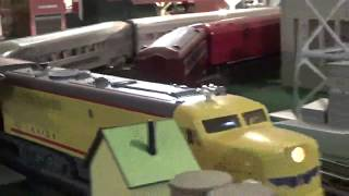 George H.W. Bush Tribute Funeral Train with Custom Funeral Baggage Coach