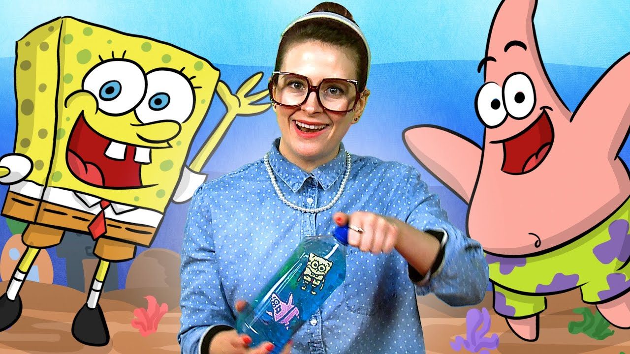 """Spongebob"" inspired Craft - Ocean in a Bottle w/ Crafty ..."