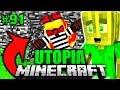 AUSBRUCH aus BEDROCK GEF  NGNIS     Minecraft Utopia  091
