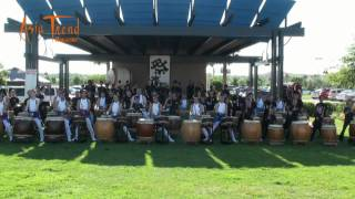 Japan Tsunami Relief Charity Concert One Hundred Drummers part